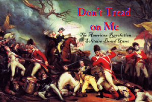 Don't Tread on Me : The American Revolution Solitaire Board Game